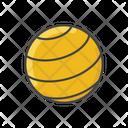 Pilates Ball Icon
