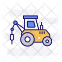 Pile Driver Transport Driver Icon