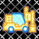 Pile Driver Color Icon