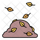Pile Leaves Fall Icon