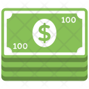 Pile of Banknotes Icon