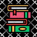 Pile Books Education Icon