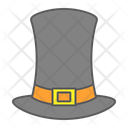 Pilgrim Hat Thanksgiving Icon