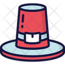 Pilgrim Hat Clothes Traditional Icon