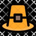 Pilgrim Hat Icon