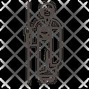 Pilgrim nun Icon