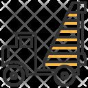 Piling Car Vehicle Icon
