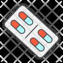Pill Pills Medical Icon