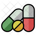 Pill Pharmaceutical Medical Icon