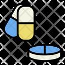 Pill Medicine Illness Icon
