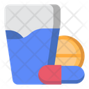 Pill Capsule Drink Icon