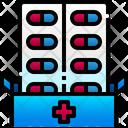 Pill Capsule Medicine Icon