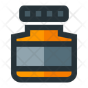 Pill Bottle Medical Icon