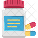 Food Supplements Pills Vitamins Icon