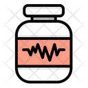 Pill Jar Medicine Jar Medicine Icon