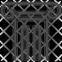 Pillar Old Pillar Ionic Pillar Icon