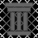 Pillar Column Greek Icon