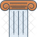 Pillar Column Pylon Icon