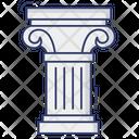 Pillar Column Ionic Pillar Icon