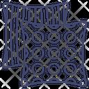 Cushion Pillow Fabric Icon