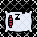 Sleep Pillow Bed Icon