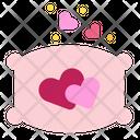Pillow Sleep Heart Icon