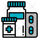 Pills Tablets Drugs Icon