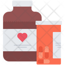 Pill Syrup Medicament Icon
