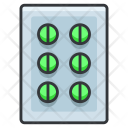 Pills Medication Icon