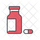 Pills Medicine Medical Tablet Icon