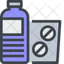 Water Pills Tablet Icon