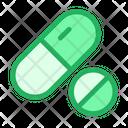 Medicine Tablets Medical Icon