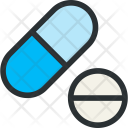 Pills Meds Drug Icon