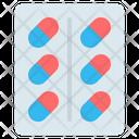 Pill Drug Capsule Icon