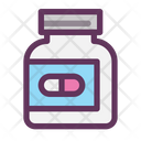Medical Healthy Pills Icon
