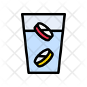 Pills Drugs Drink Icon