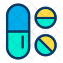 Medicine Pills Pills Strip Icon