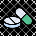 Pills Drugs Medicine Icon