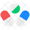 Pills Capsules Drugs Icon