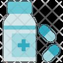 Biology Pills Bottle Icon