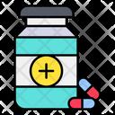 Pills Bottle Drugs Icon