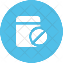 Pills Container Bottle Icon