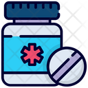 Pills Bottle Medicine Bottle Medicine Icon
