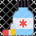 Medicine Pills Bottle Medication Icon