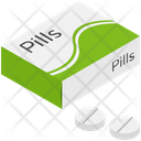 Medicine Tablet Pills Box Icon