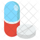 Pills Isometric Icon