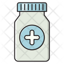 Pills Injection Vaccination Icon