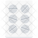 Pills Strip Capsule Drugs Icon