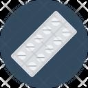 Pills Strip Capsule Drugs Icon