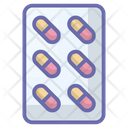 Medicine Pills Strip Medication Icon